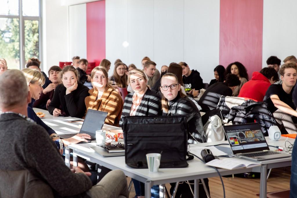 Leren zonder grenzen; Euregionaal; europa; samenwerking; grensstreek; Duitsland; scholieren; berufskolleg